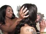 African HD black ebony edengaysex.com and persian babe Lola Hart share sexywifeporntube.com gloryhole cock hdsexworld.com porn video