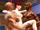 Anime sex 3D interracial cartoon badjojo hentai cuckold gangbang party pornliy and cave exploring fucking