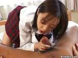 Japanese asian blowjob beautifull college schoolgirl