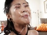 Korean sex HD asian girls brutal face fucking pornoxj and cumshot covered judaporn in spit from horny man