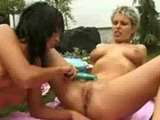 Lesbian egyptian futurama orgy in the backyard 1