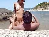 More beach outdoor nude amateur very hardcore fucking and a gorgeous deserted beach