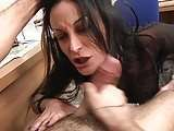 Secretary italian sex hardcore sister Mila analfucked ass fucking in black impressive stockings office video