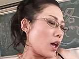 Teacher japanese HD asian college school cabinporn.com tubekitty.com horny girl fucking herself jizzbo in classroom